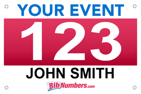 Massif image throughout printable race bibs free